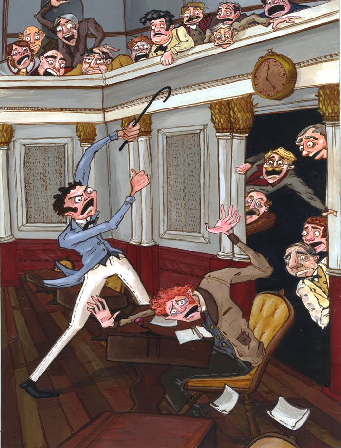 caning of charles sumnner About this book as stephen puleo relates in this gripping, richly detailed, and well-written account of nineteenth-century america on the cusp of civil war, the caning of charles sumner was an act of unparalleled brutality, a shocking breach of decorum, and the defining moment when north and.