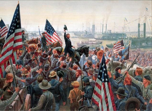 Grant in Vicksburg 1