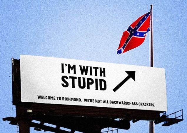 flag billboard