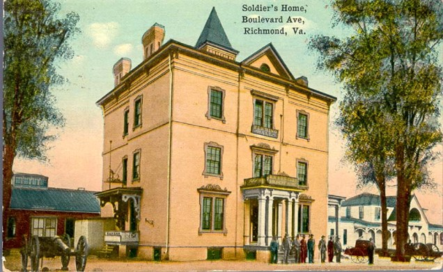 Robinson House Richmond postcard