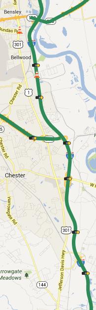 Traffic cam locations