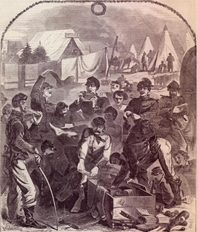 winslow homer 1861 Christmas