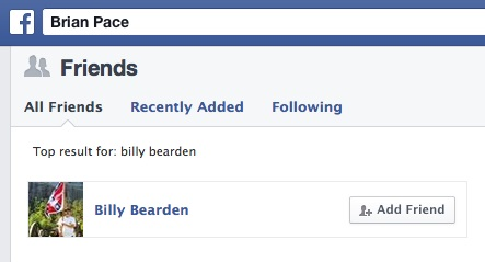 Billy Bearden Friend A