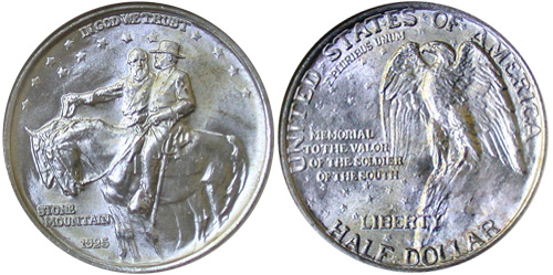 Lee Jackson Stone Mountain coin