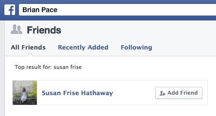 Susan Hathaway Friend A