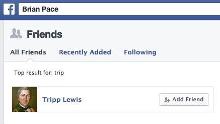 Tripp Lewis Friend A