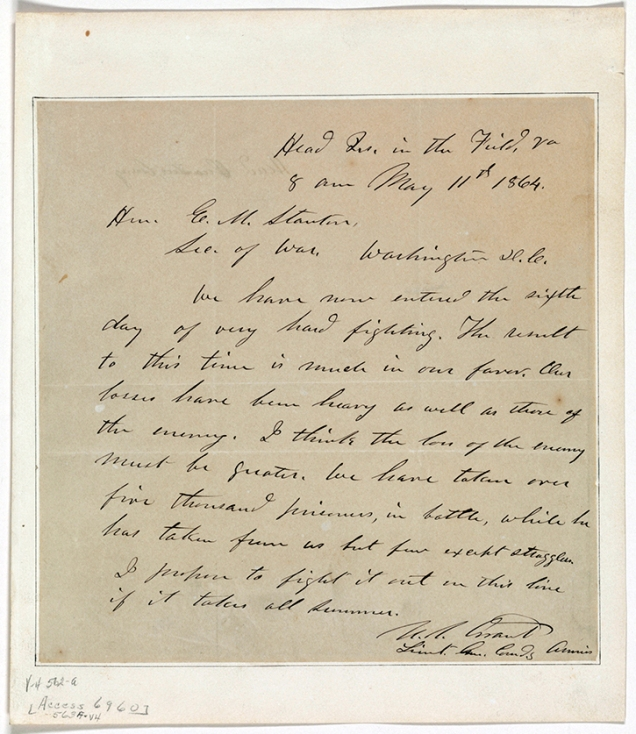 Grant May 11, 1864