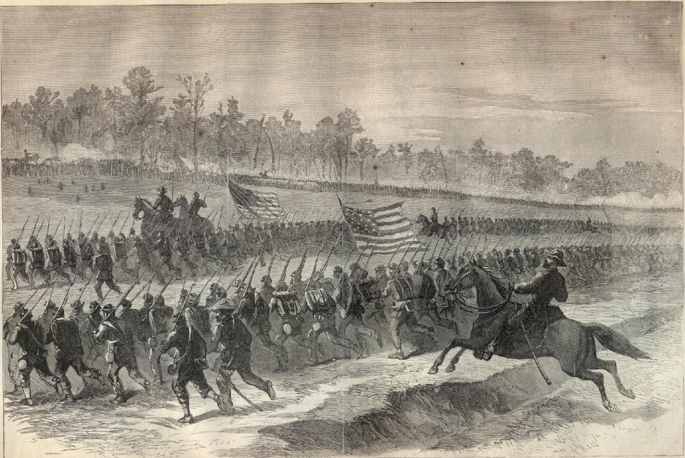 william shermans march proves the might of the north Home collections wartime collection march 7, 1865 general william sherman, of the union army, wrote the letter on march 7, 1865 from rockingham, north carolina, to fellow union army general hugh.