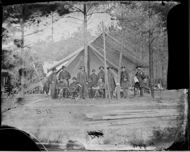 Grant and Staff Cold Harbor