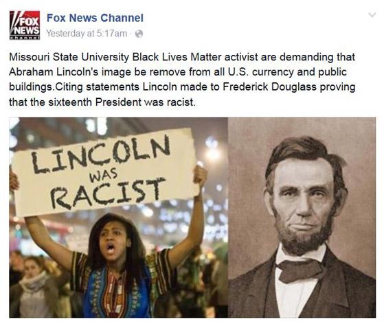 LincolnFoxRacist