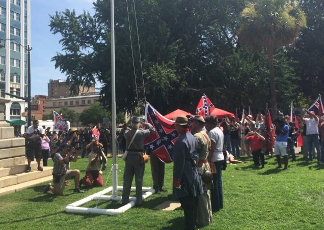 Confederate Flag Rally