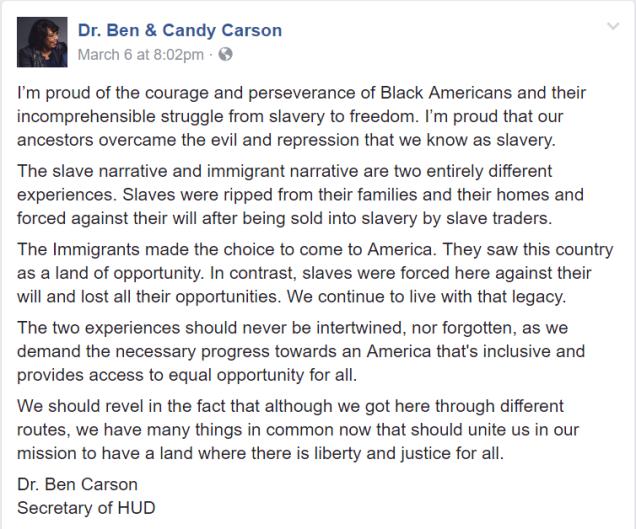 Carson FB slavery